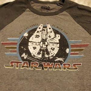 Star Wars, Millennium Falcon, 3/4 sleeves t-shirt